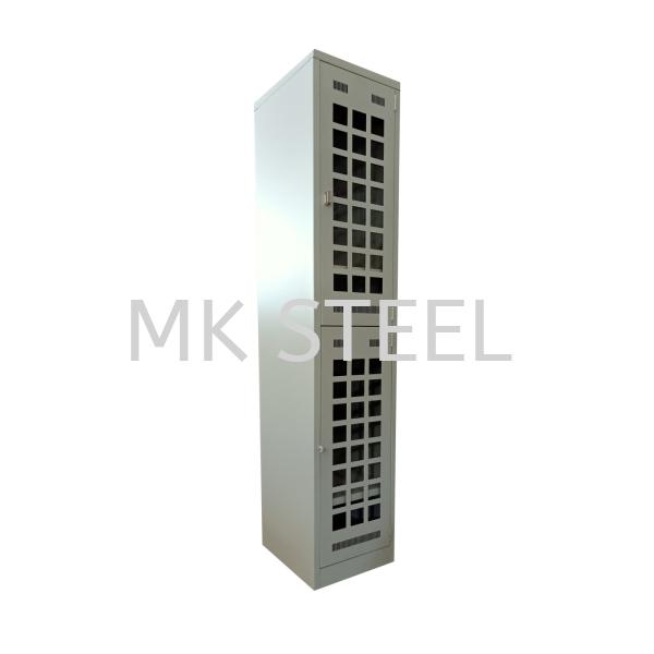 2 COMPARTMENT LOCKER 18'' WITH ACRYLIC DOOR Custom Made Malaysia, Selangor, Kuala Lumpur (KL), Sungai Buloh Manufacturer, Supplier, Supply, Supplies | MK STEEL HARDWARE SDN BHD