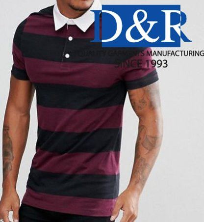 Yarn Dye Polo for Men