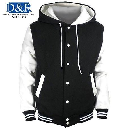 Varsity Jacket with Hood