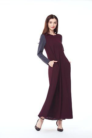 Abaya Muslimah Jubah Fashion Ladies Premium Fabric