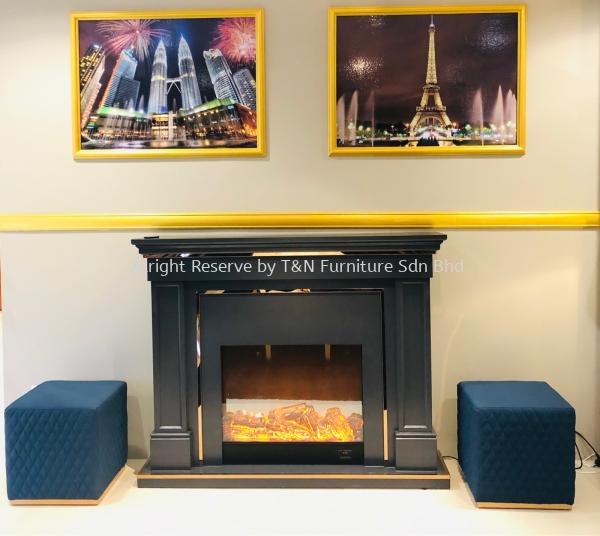 Moderno Fireplace  Decorating  Kuala Lumpur (KL), Malaysia, Selangor, Semenyih Supplier, Suppliers, Supply, Supplies | T & N Furniture Sdn Bhd