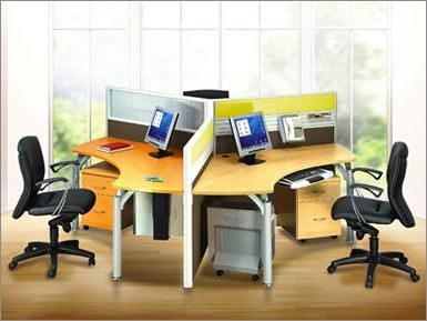 Triangle Shape Block System Open Plan Workstation Selangor, Malaysia, Kuala Lumpur (KL), Semenyih Supplier, Suppliers, Supply, Supplies | GUESS OFFICE SOLUTIONS SDN. BHD.