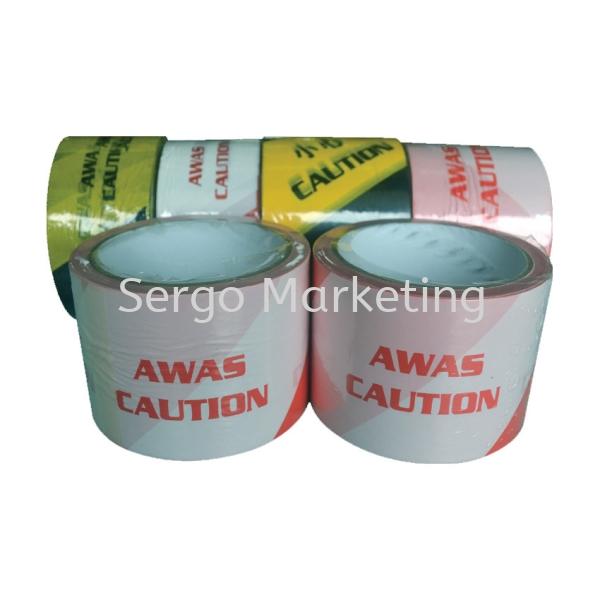 Warning Tape Tape Selangor, Malaysia, Kuala Lumpur (KL), Rawang Supplier, Manufacturer, Supply, Supplies | Sergo Marketing Sdn Bhd