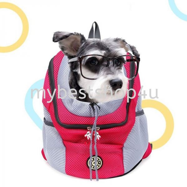 New Out Double Shoulder Portable Travel Backpack Outdoor Pet Dog Carrier Bag Pet Dog Front Bag Mesh  Pet accessories Penang, Malaysia, Bukit Mertajam Supplier, Suppliers, Supply, Supplies | Tien Hai Megah Trading