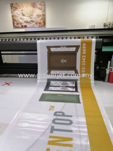 UV Banner printing  BANNER & BUNTING Puchong, Selangor, Malaysia Supply, Design, Installation   Power Jet Solution Sdn Bhd