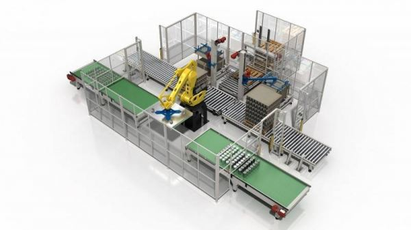 Robotic Depalletizing System Automatic Depalletizer Depalletizing Palletizing Machine Selangor, Malaysia, Kuala Lumpur (KL), Puchong Supplier, Suppliers, Supply, Supplies   Fillpack Technology Sdn Bhd