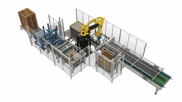 Robotic Palletizing Solution for Empty Cans Automatic Palletizer Depalletizing Palletizing Machine Selangor, Malaysia, Kuala Lumpur (KL), Puchong Supplier, Suppliers, Supply, Supplies | Fillpack Technology Sdn Bhd