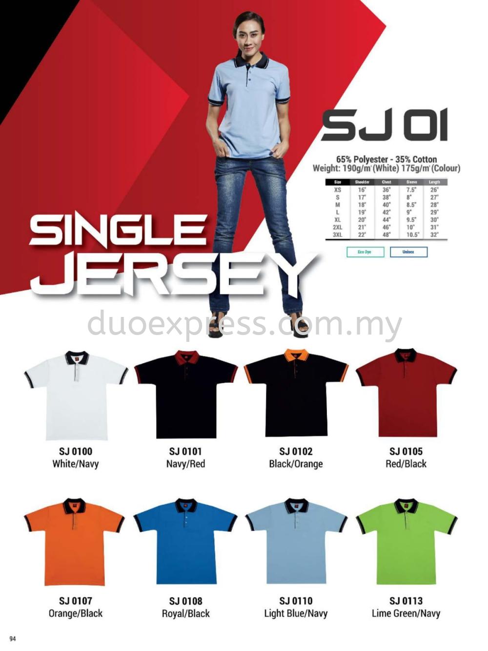 Oren SJ01 Cotton Collar T Shirt Unisex