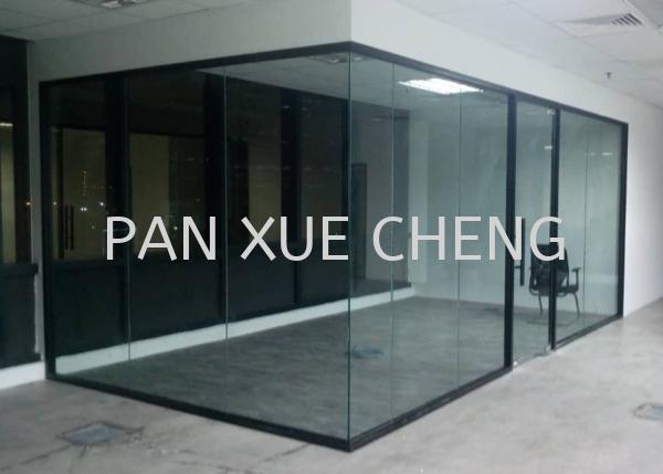 Glass Partition Aluminium Glass Partition Selangor, Malaysia, Kuala Lumpur (KL), Rawang Supplier, Installation, Supply, Supplies | Pan Xue Cheng Glass Sdn Bhd