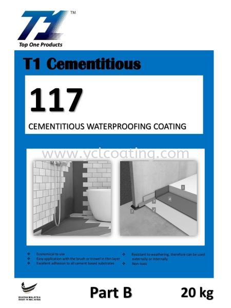 T1 Cementitious 117 Cementitious Selangor, Malaysia, Kuala Lumpur (KL), Cheras Supplier, Suppliers, Supply, Supplies | YCL Coating Sdn Bhd