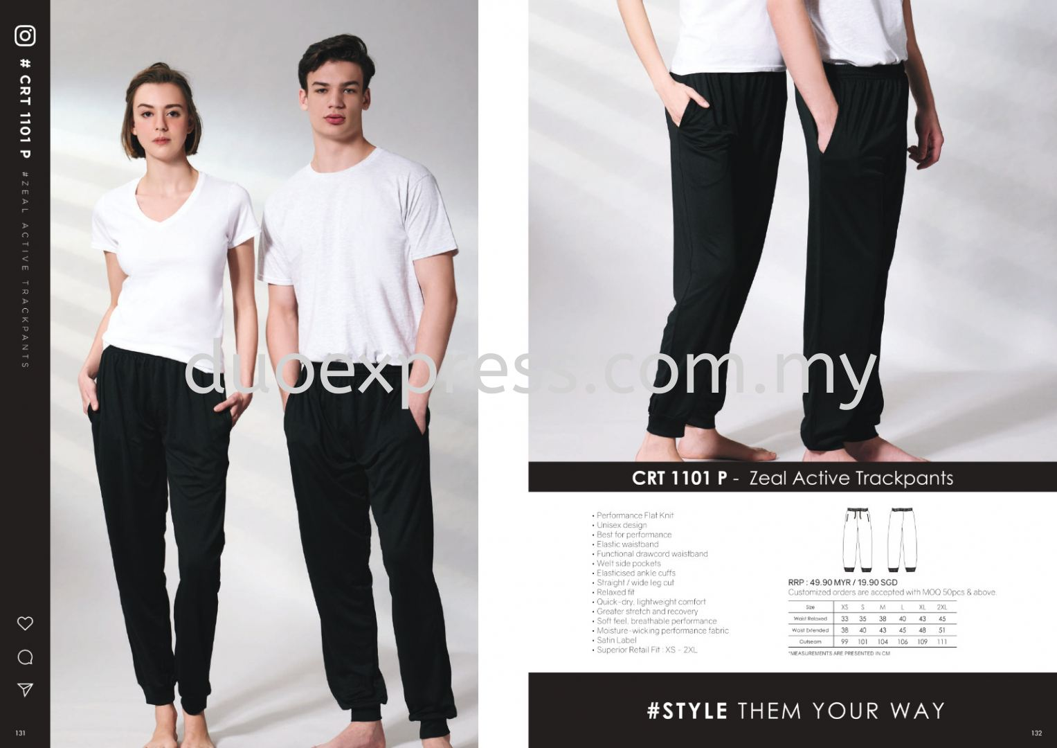Cross Runner CRT1100 Track Pants