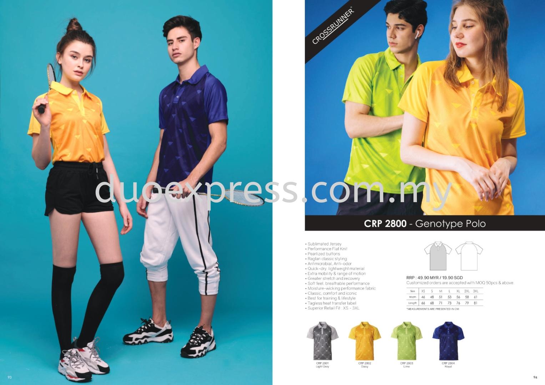 Cross Runner CRP2800 Polo T Shirt