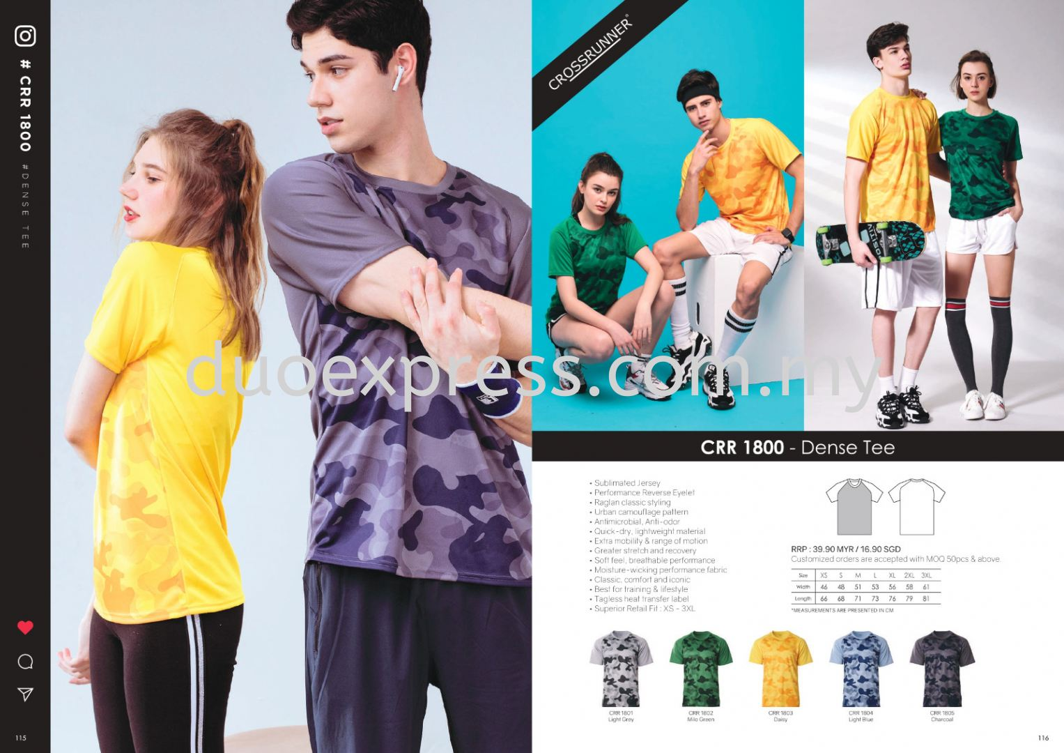 Cross Runner CRR1800 Roundneck T Shirt