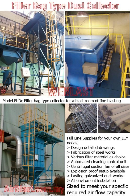 Filter Bag Dust Collector MAINTENANCE & PARTS Malaysia, Negeri Sembilan, Nilai Manufacturer, Supplier, Supply, Supplies | AirBlast (M) Sdn Bhd