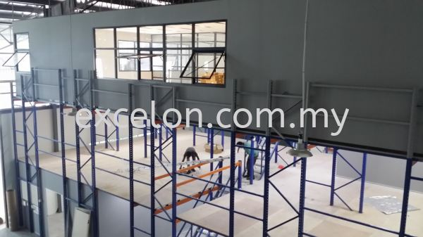 Racking Platform With Office Racking with Mezzanine Platform Selangor, Malaysia, Kuala Lumpur (KL), Puchong Supplier, Suppliers, Supply, Supplies   Excelon Engineering Solutions