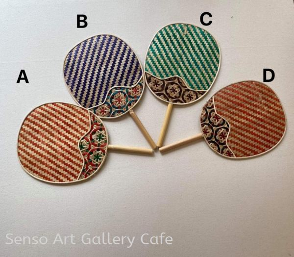 Bamboo Fan Bamboo products Handmade Goods Shop Johor Bahru (JB), Malaysia Workshop | Senso Art Gallery Cafe
