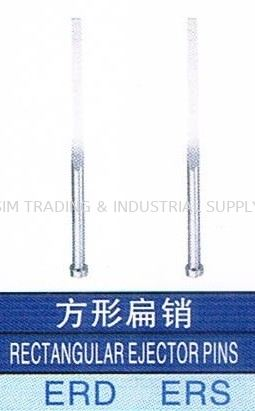 Rectangular Ejector Pins PLASTIC MOLD ACCESSORIES MOULD & DIES ACCESSORIES Johor, Malaysia, Batu Pahat Supplier, Suppliers, Supply, Supplies | SIM TRADING & INDUSTRIAL SUPPLY