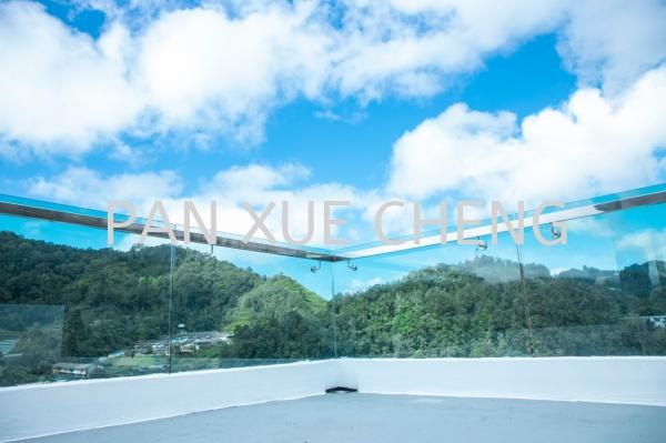 Balcony Glass Balcony Glass Selangor, Malaysia, Kuala Lumpur (KL), Rawang Supplier, Installation, Supply, Supplies | Pan Xue Cheng Glass Sdn Bhd