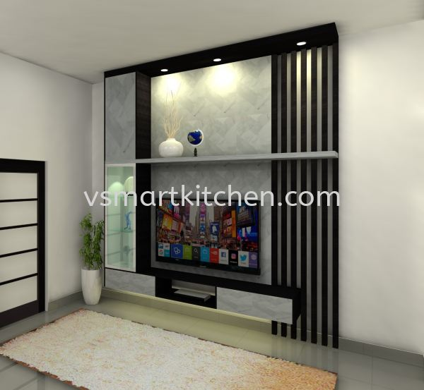 SANTUARY  TV CABINET  Penang, Malaysia, Butterworth Supplier, Suppliers, Supply, Supplies | V SMART KITCHEN (M) SDN BHD