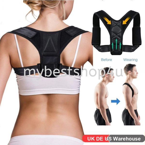 Adjustable Posture Corrector Back Support Brace Clavicle Spine Shoulder Back Posture Correct Belt fo Others Penang, Malaysia, Bukit Mertajam Supplier, Suppliers, Supply, Supplies | Tien Hai Megah Trading
