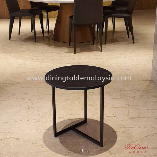 St Laurent | Round Marble Side Table (matt-finish) | Cash & Carry | RM599 Marble Coffee Table Promotion / Clearance Item  Malaysia, Selangor, Kuala Lumpur (KL), Petaling Jaya (PJ) Supplier, Suppliers, Supply, Supplies | DeCasa Marble Sdn Bhd
