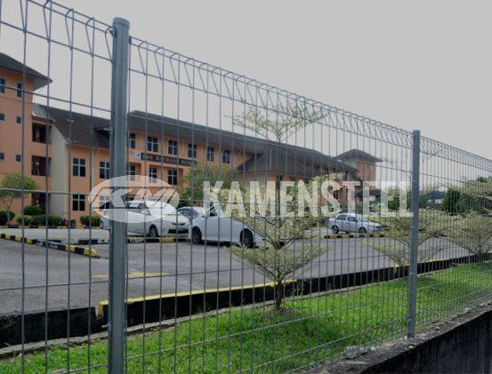 KB Steel Fence KB Series Galvanized Steel Fence Malaysia, Penang, Pulau Pinang, Bukit Mertajam Manufacturer, Supplier, Supply, Provider | Kamen Steel Industries Sdn Bhd