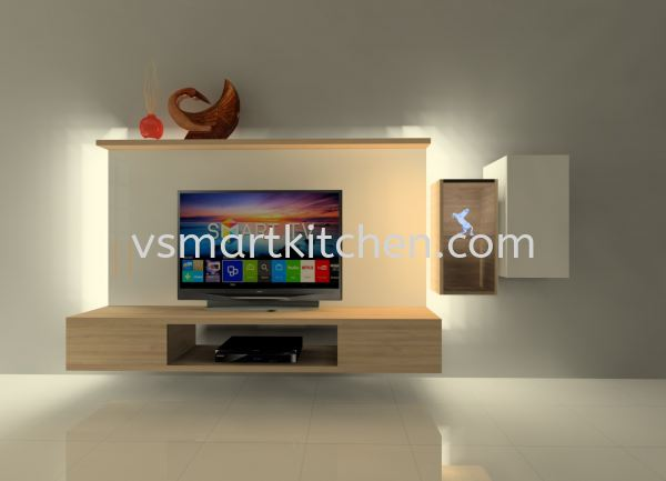 SIMPLE TV CABINET TV CABINET  Penang, Malaysia, Butterworth Supplier, Suppliers, Supply, Supplies | V SMART KITCHEN (M) SDN BHD