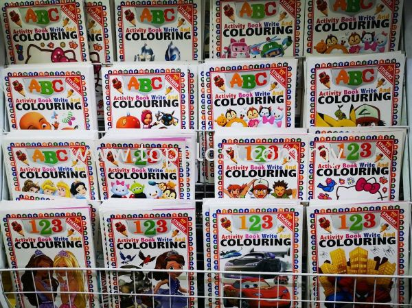 Colouring 123 ABC  Children Toy Penang, Malaysia Supplier, Suppliers, Supply, Supplies | Top Plast Enterprise