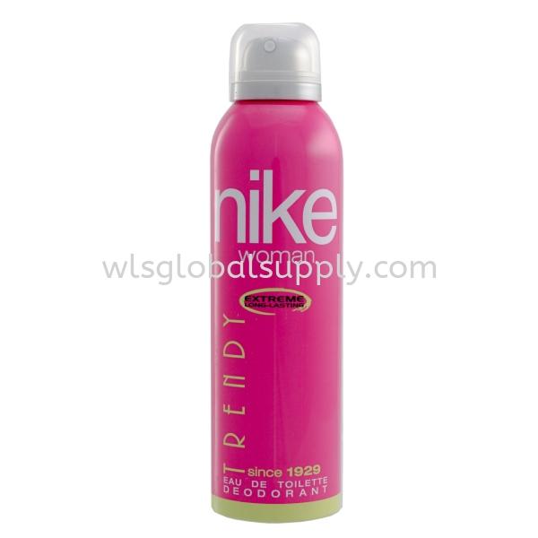 Nike Women's Deodorant Spray 200ml (Trendy) Woman Classic Nike Malaysia, Selangor, Kuala Lumpur (KL), Balakong Manufacturer, Supplier, Supply, Supplies | WLS Global Supply Sdn Bhd