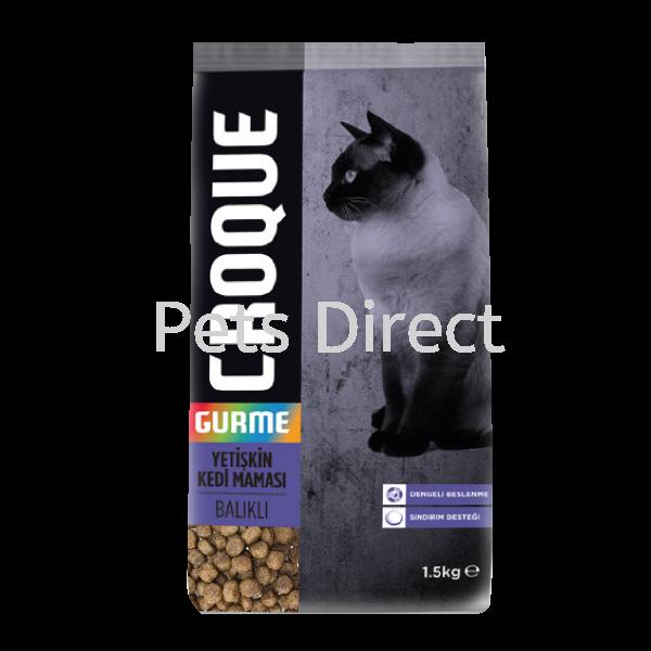 Croque 1.5KG With Fish For Gourmet Cat Croque Cat Food Selangor, Malaysia, Kuala Lumpur (KL), Klang, Subang Jaya, Shah Alam Supplier, Suppliers, Supply, Supplies   Pets Direct