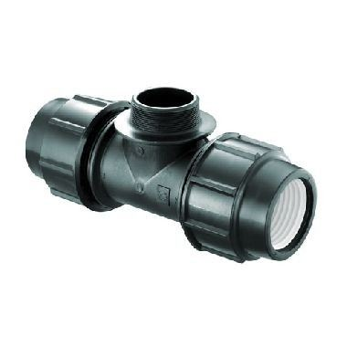 Male Tee Master Compression Fittings Penguin Mechanical Jointing System Malaysia, Selangor, Kuala Lumpur (KL), Perak, Semenyih, Ipoh Manufacturer, Supplier, Supply, Supplies | POLYWARE SDN BHD