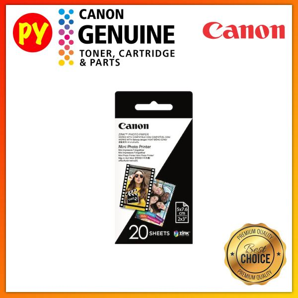 Canon 2x3  ZINK Photo Paper Pack (20sheets) For iNSPiC PV-123 PV123 PV 123 CV-123 CV123 CV 123 ZV-12 OTHER CONSUMABLES Kuala Lumpur, KL, Jalan Kuchai Lama, Selangor, Malaysia. Supplier, Suppliers, Supplies, Supply | PY Prima Enterprise Sdn Bhd