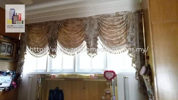 Scallop Curtain Scallop Curtain & Lace Selangor, Malaysia, Kuala Lumpur (KL), Puchong, Shah Alam Supplier, Suppliers, Supply, Supplies | Zen Home Decor