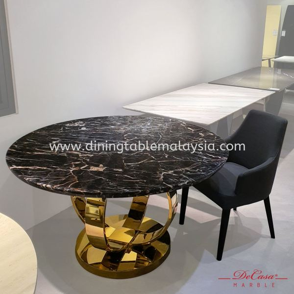 Marrone   Turkey   6 Seaters   Dining Table only   RM4,599 Marble Dining Table Promotion / Clearance Item  Malaysia, Selangor, Kuala Lumpur (KL), Petaling Jaya (PJ) Supplier, Suppliers, Supply, Supplies   DeCasa Marble Sdn Bhd