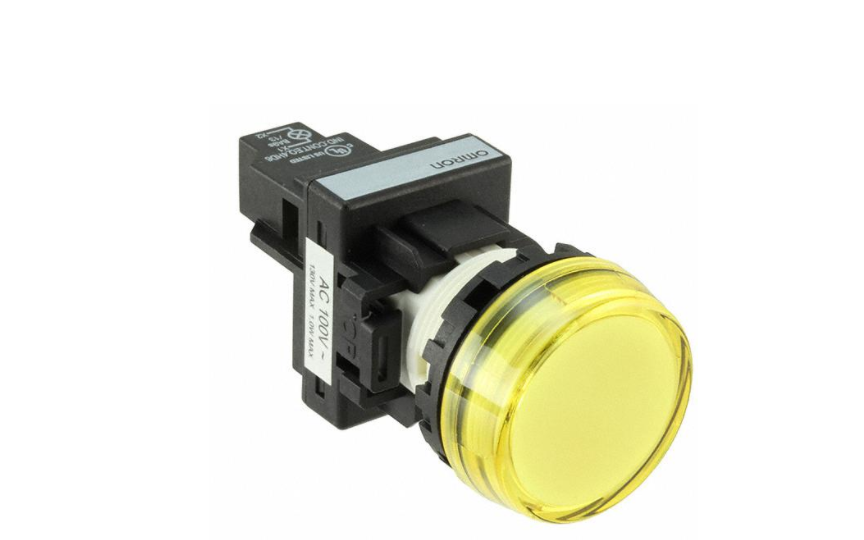 Omron M22N Omron _  22-mm dia. Indicators. Control panel miniaturization through a more compact design and