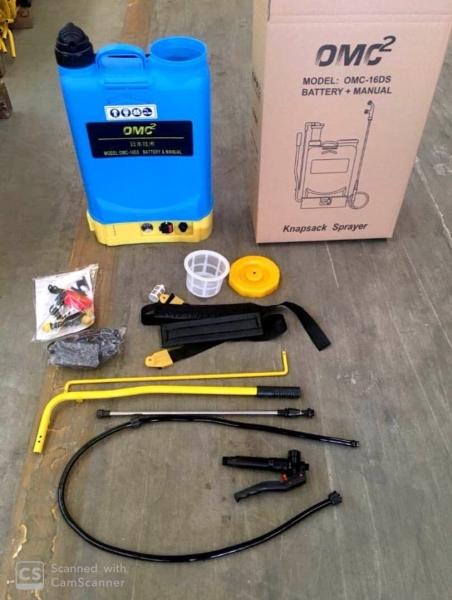 OMC-16DS(BM) sprayer OMG Seremban, Malaysia, Negeri Sembilan Supplier, Suppliers, Supply, Supplies | EBM Hardware & Machinery Sdn Bhd