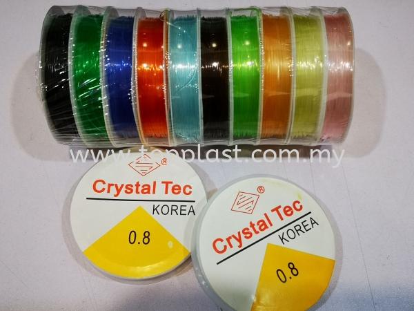 Elastic Crystal Tec Colour DIY Art Work Penang, Malaysia Supplier, Manufacturer, Supply, Supplies | Top Plast Enterprise