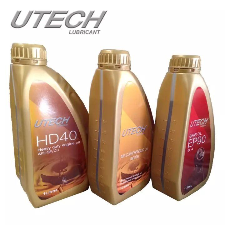 Utech HD40 1 Liter HD Engine Oil ID005410