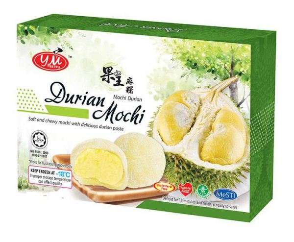Durian 3D Box Mochi Malaysia, Johor, Kluang Supplier, Manufacturer, Supply, Supplies | YM PASTRY MANUFACTURING SDN BHD