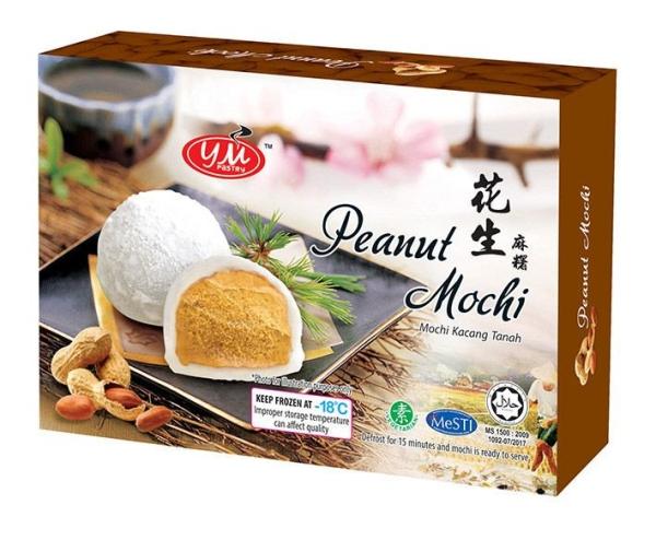 Peanut Mochi 3D Box 6PCS 6PCSX25G Mochi Malaysia, Johor, Kluang Supplier, Manufacturer, Supply, Supplies | YM PASTRY MANUFACTURING SDN BHD