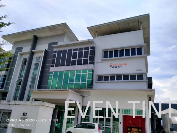 Silver Green Color Safety Film and Solar Film Selangor, Malaysia, Kuala Lumpur (KL), Semenyih Supplier, Suppliers, Supply, Supplies | Even Tint