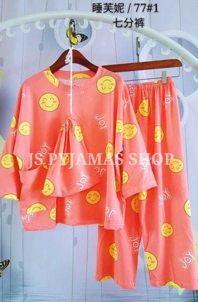 MILK SILK CROPPED PANT SLEEPWEAR Women Cropped Pants Pyjamas Set Women Sleepwear Pyjamas Johor, Malaysia, Batu Pahat Supplier, Wholesaler, Supply, Supplies | Sexy Accessories Trading