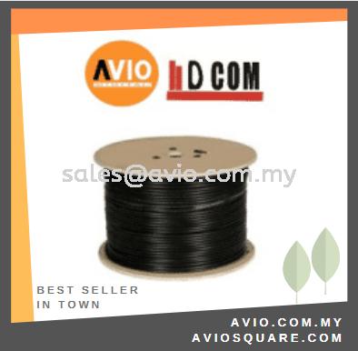 D-COM DCOM-E64 RG59 Coaxial Cable 300 meter