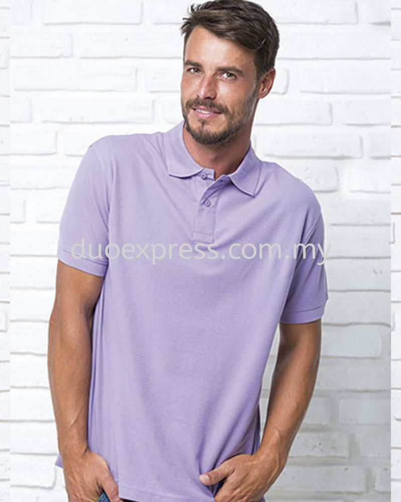 Four Square Polo Collar T Shirt
