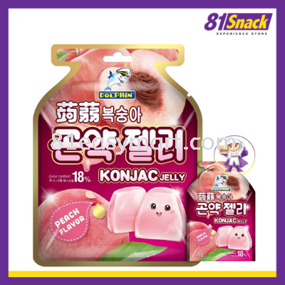 Konjac Jelly Peach Flavor
