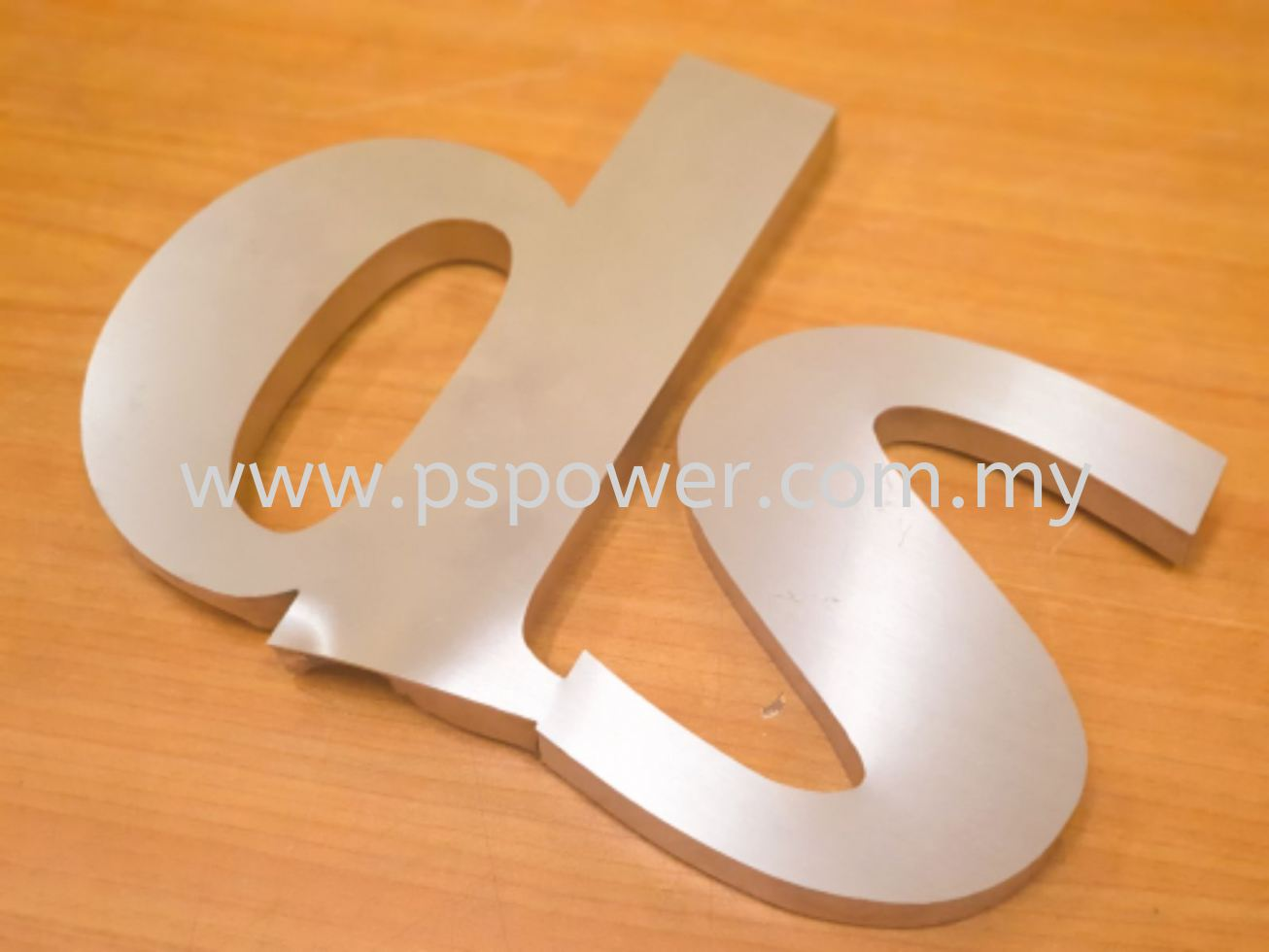 Laser Cut Stainless Steel Lettering