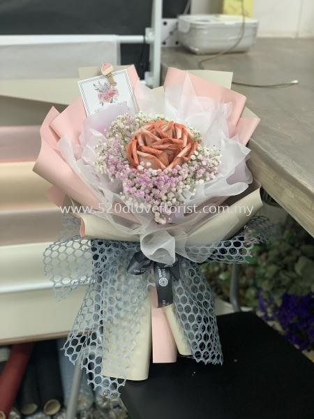 MONEY ROSES BOUQUET/有钱花 Kuala Lumpur (KL), Malaysia, Selangor, Cheras Supplier, Suppliers, Supply, Supplies | 520 D Love Florist