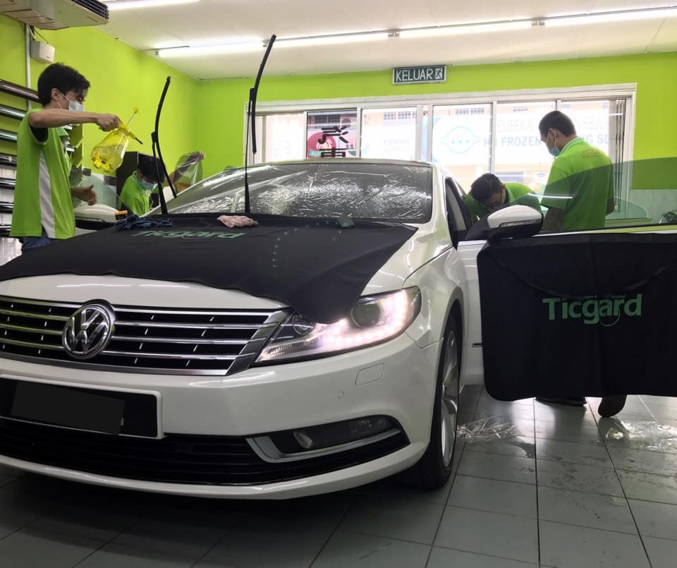 TICGARD® AUTOMOTIVE TINTING FILMS