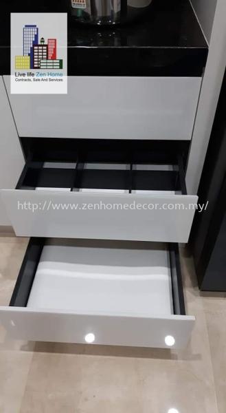 Built In Cabinet Built in cabinet Built in works Furniture & Renovation Selangor, Malaysia, Kuala Lumpur (KL), Puchong, Shah Alam Supplier, Suppliers, Supply, Supplies | Zen Home Decor