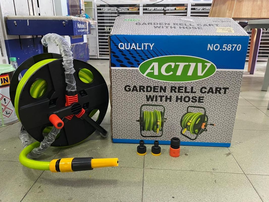 20M Garden Hose and Reel Set